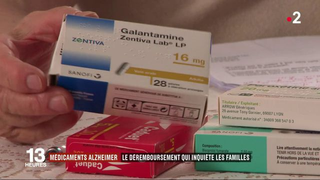 Médicaments Alzheimer : le déremboursement inquiète les familles