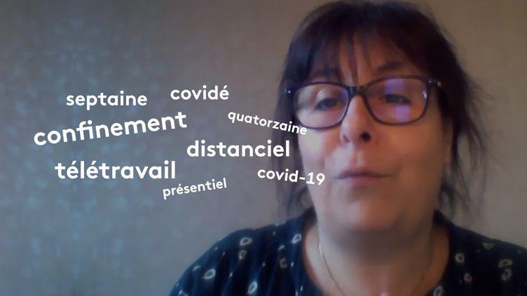 Sandrine Reboul-Touré, enseignante en sciences du langage à l'université Paris 3-Sorbonne Nouvelle. (FRANCEINFO)