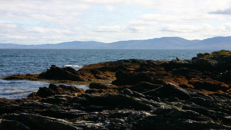 L'île de Colonsay située à 100km à l'ouest de Glasgow (Ecosse). (JACOB CARTER / REX FEAT / REX / SIPA )