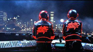 Daft Punk lors de leur tournée Alive Tour, à Chicago le 3 août 2007. (DJ FALCON)