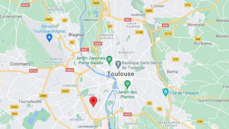 Le quartier de la Faourette à Toulouse. (GOOGLE MAPS)