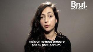 VIDEO. Illana Weizman encourage à partager la réalité que vivent les femmes après un accouchement (BRUT)