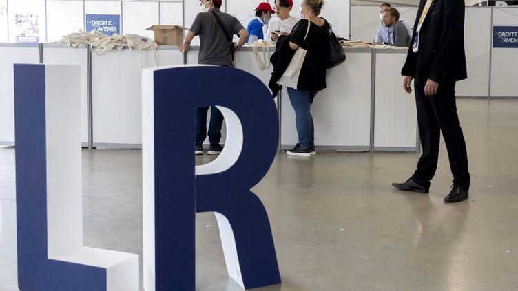 La rentrée politique des Jeunes républicains, le 4 septembre 2021 à Paris. (VINCENT ISORE / MAXPPP)
