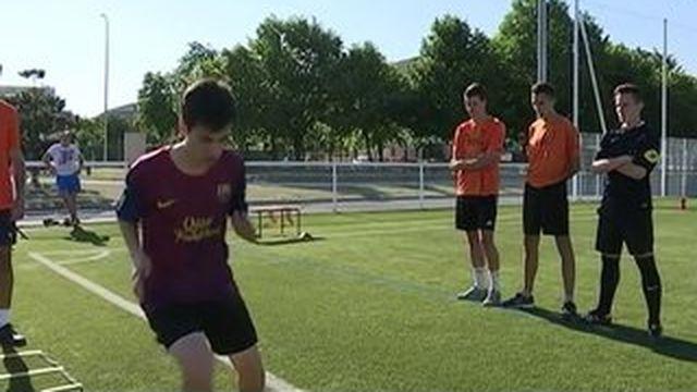 Une formation pour devenir arbitre de football