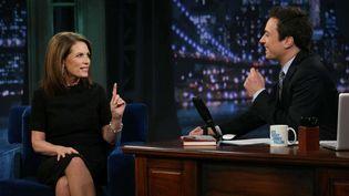 Michele Bachmann au Jimmy Fallon Show  (Lloyd Bishop/NBC/AP/SIPA)