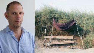 """Le photographe Ron Amir, et Ron Amir :""""Abdelrazik's Bench (le banc d'Abdelrazik"""", 2014  (Ron Amir)"""