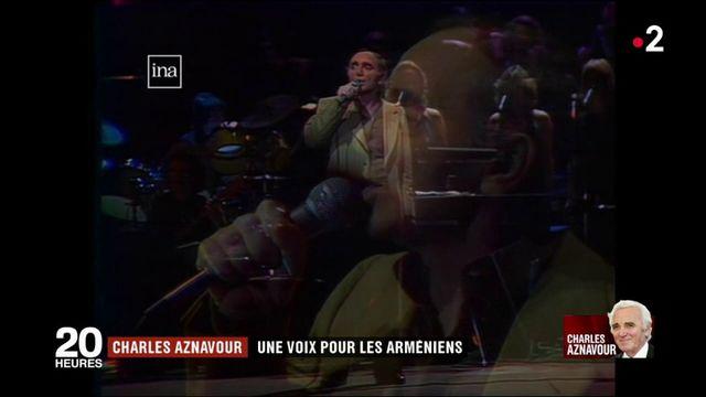 Charles Aznavour : une voix pour les Arméniens