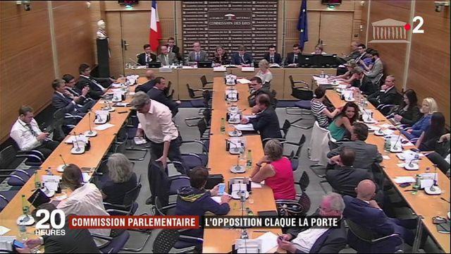 Affaire Benalla : l'opposition claque la porte de la commission d'enquête