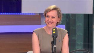 Virginie Calmels,présidente de Droite Lib et adjointe d'Alain Juppé à la mairie de Bordeaux, était l'invitée de franceinfo. (FRANCEINFO)