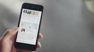 L'application Paper, dévoilée par Facebook jeudi 30 janvier 2014,permet de consulter et partager des articles et d'autres contenus depuis un smartphone, à la manière d'un journal en ligne. (FACEBOOK / FRANCETV INFO)