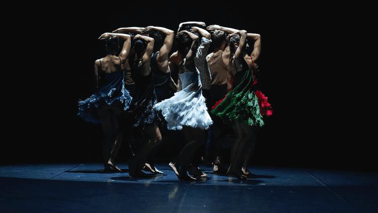 """Expo """"Ballet Couture"""" : la Fresque d'Angelin Prejlocaj. CostumesAzzedine Alaia.  (Jean-Claude Carbonne)"""