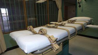 La salle des exécutions de la prison de Huntsville, au Texas (Etats-Unis), le 29 septembre 2010. (REUTERS)