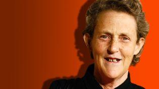 Temple Grandin, zootechnicienne américaine, professeure à l'université du Colorado. (STÉPHANIE BERLU / FRANCE-INFO)