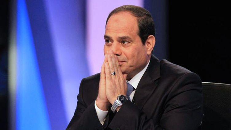 (Le maréchal Abdel Fattah al Sissi donné élu avec plus de 90% des voix © REUTERS | Al Youm Al Saabi)