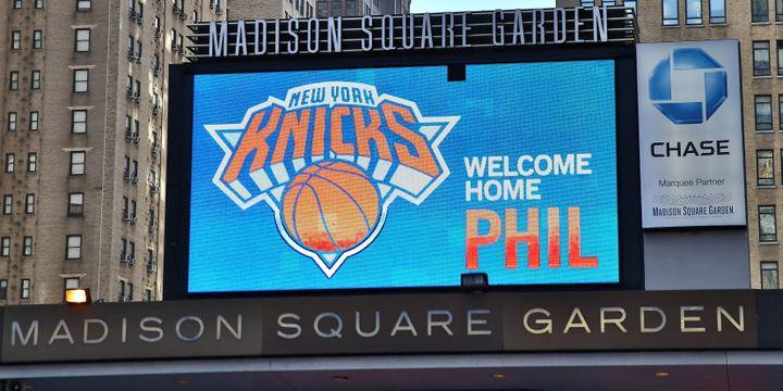 """""""Bienvenue à la maison, Phil"""", annonce le Madison Square Garden"""