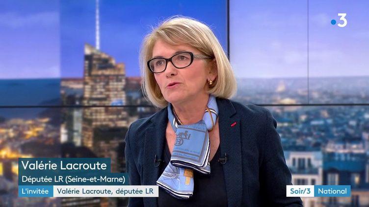 Valérie Lacroute, députée LR (France 3)