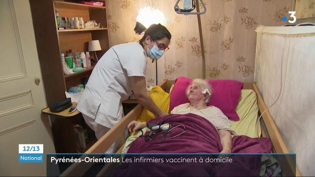Pyrénées-Orientales : le soutien de la vaccination à domicile