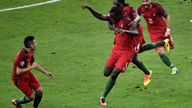 Eder, héros du Portugal en finale de l'Euro 2016 (PHILIPPE LOPEZ / AFP)