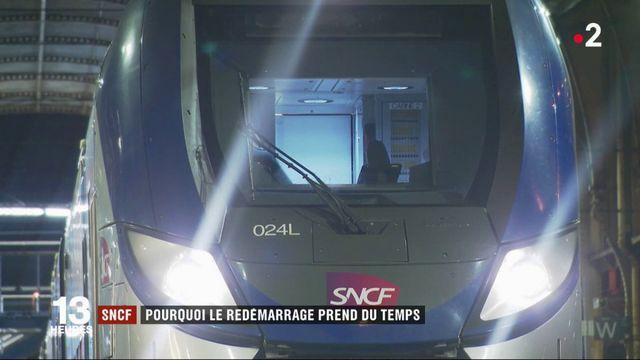 SNCF : pourquoi le redémarrage prend du temps