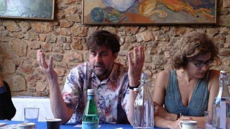 Nanni Moretti délibérant pour la Palme d'or du 65e Festival de Cannes  (DR)