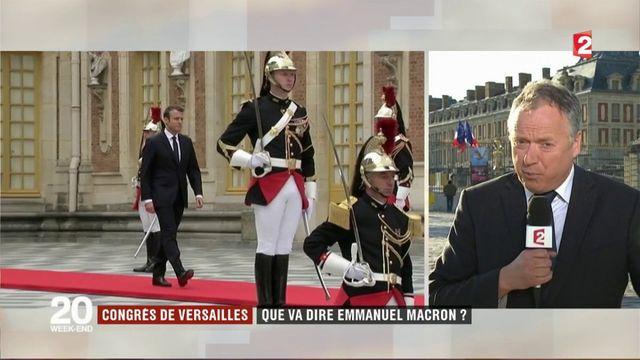 Congrès de Versailles : que va dire Emmanuel Macron ?