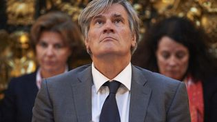 Stéphane Le Foll, le 26 octobre 2016. (NIKLAS HALLE'N / AFP)