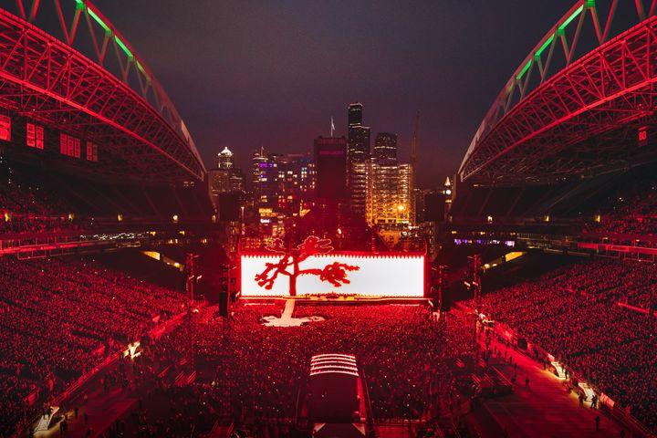 Vue globale de la scène - Seattle, 14 mai 2017  (Danny North)