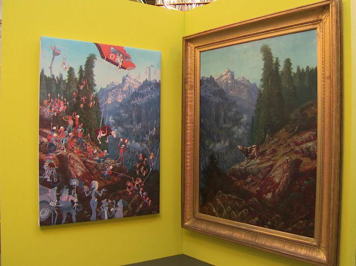 La vache de Gustave Doré sauvée par un hélicoptère ! (G. Ragris / France 3 Alpes)