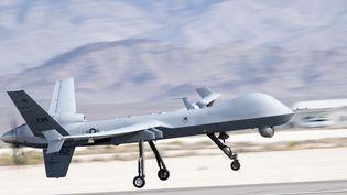 Un drone MQ-9 Reaper fabriqué par Boeing. (TSGT. EMERSON NUNEZ/US AIR / MAXPPP)