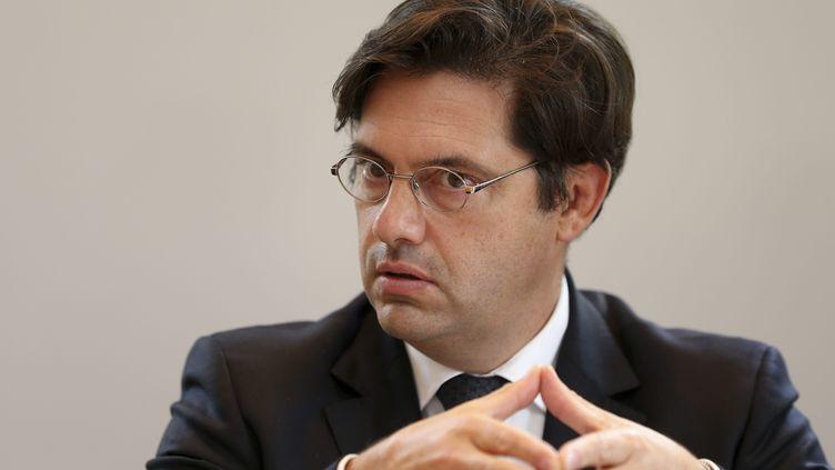 Georges-François Leclerc, préfet de Haute-Savoie, lors d'une conférence de pressele 26 septembre 2013 à Annecy. (  MAXPPP)
