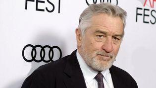 """Robert De Niro le 12 novembre 2016 à Los Angeles pour l'avant-première du film """"The Comedian""""  (Richard Shotwell / AP / Sipa)"""
