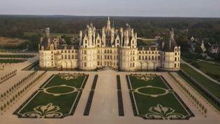 Le jardin à la française du château de Chambord a pu renaître grâce à un riche mécène américain  (Château de Chambord Officiel)
