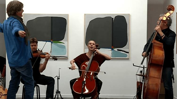 Samarabalouf up en concert le 24 janvier à Galerie Slyka à Lyon.  (France 3 Culturebox)