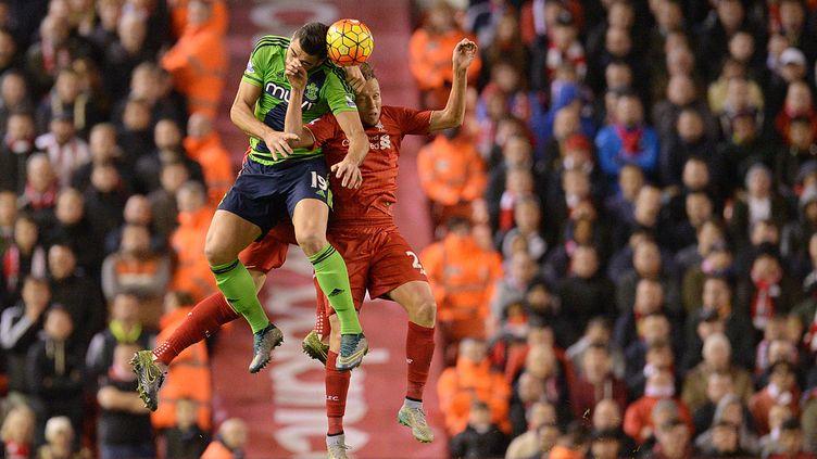 Il n'y a pas eu de vainqueur entre Liverpool et Southampton (OLI SCARFF / AFP)