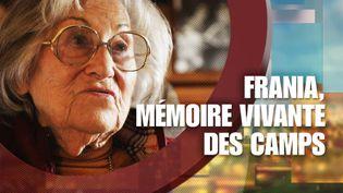 13h15 le dimanche / France 2. Frania, mémoire vivante des camps (13h15 le dimanche / France 2)