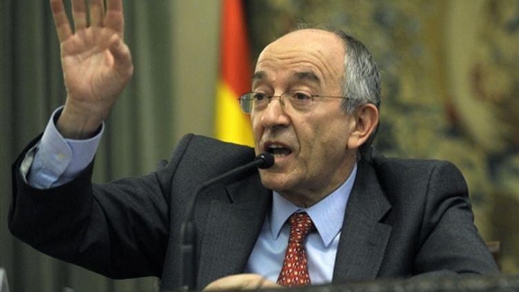 Le gouverneur de la Banque d'Espagne, Miguel Fernandez Ordonez - 15/12/10 (AFP Philippe Desmazes)
