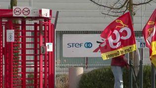 Montauban : les salariés d'une base logistique en grève depuis 38 jours (Capture d'écran France 2)