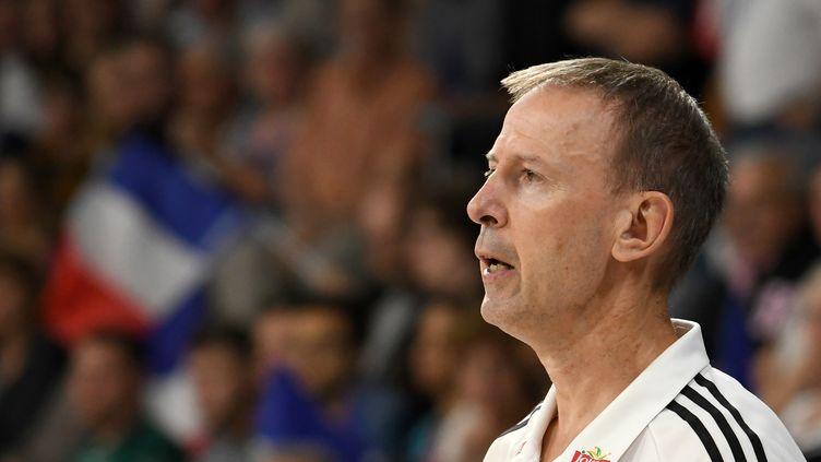 Les hommes de Vincent Collet s'arrêtent en 1/4 de finales (JEAN-FRANCOIS MONIER / AFP)