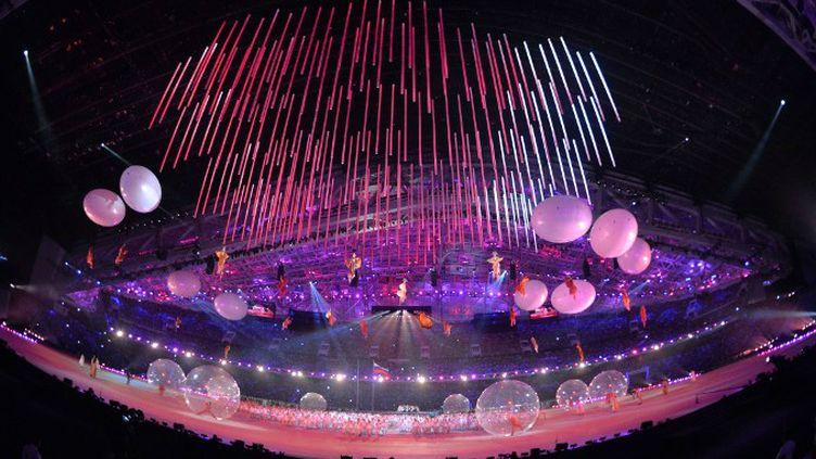 Cérémonie d'ouverture des Jeux Paralympiques de Sotchi.