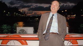 Jacques Chirac, le 4 juillet 1994 à Paris. (BERTRAND GUAY / AFP)