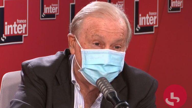 Jean-François Delfraissy était l'invité de France Inter jeudi 29 octobre. (FRANCE INTER)