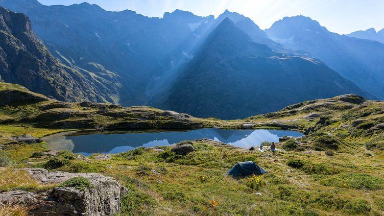 Le Parc national des Ecrins (Hautes-Alpes) (BERTRAND BODIN / AFP)