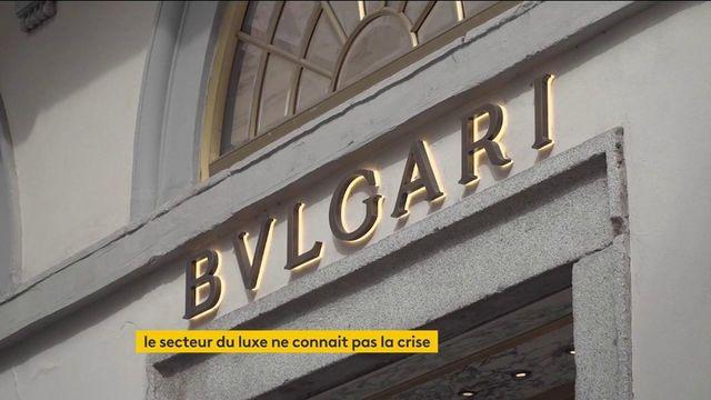 Économie : le secteur du luxe dopé par les ventes en ligne