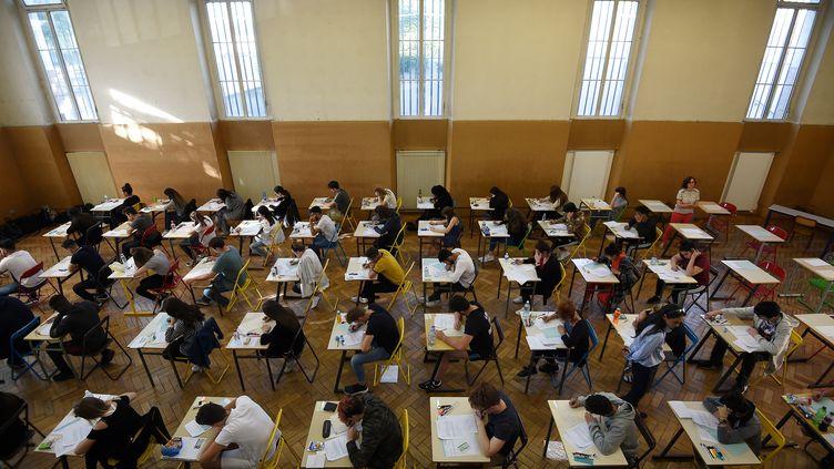 Le baccalauréat 2018 au lycée Pasteur de Strasbourg. (FREDERICK FLORIN / AFP)