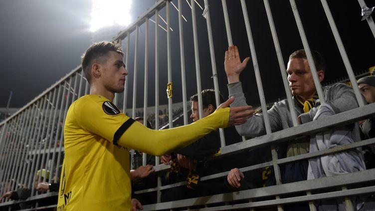 Adnan Januzaj évoluait à Dortmund depuis le début de la saison  (KIRILL KUDRYAVTSEV / AFP)