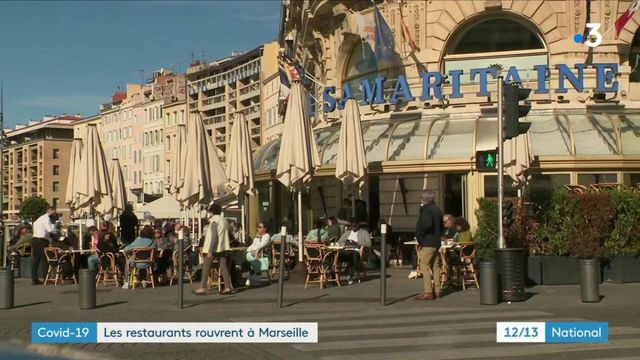 Coronavirus : les restaurants marseillais vont rouvrir