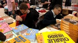 Depuis plusieurs années, Charlie Hebdo est un fidèle de la Foire du Livre de Brives  (France 3 Culturebox)
