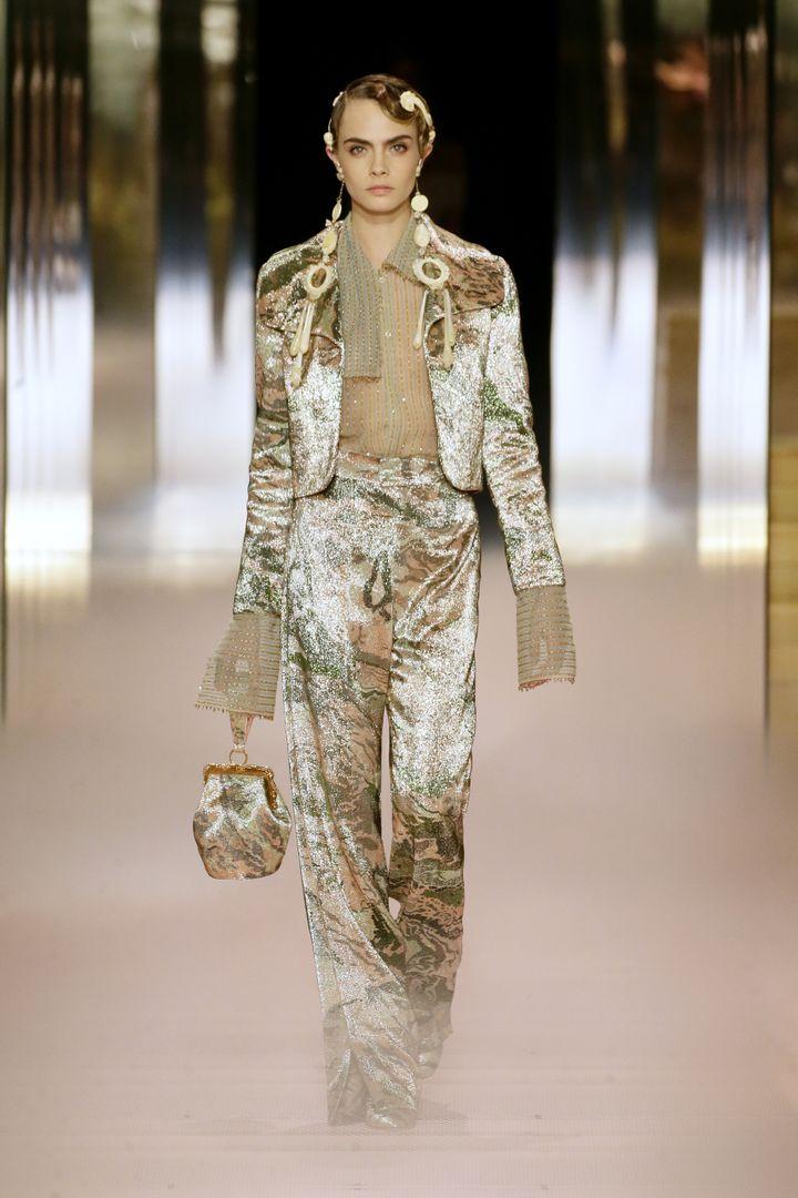 Fendi haute couture printemps-été 2021, à Paris, le 27 janvier 2021 (ALDOCASTOLDI)