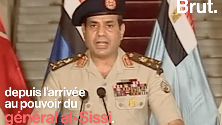 Droits de l'Homme en Égypte : 60 000 arrestations politiques depuis 2013 (Brut.)