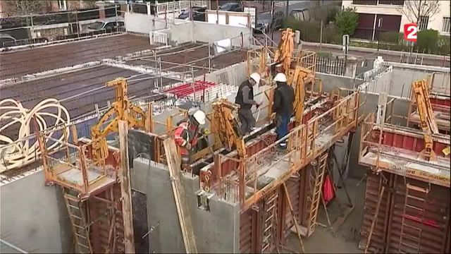 Emploi : la tendance aux bâtiments